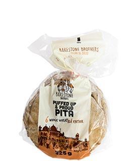 BB Puffed Up & Proud Pita Whole Wheat