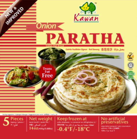 Begum Onion Paratha