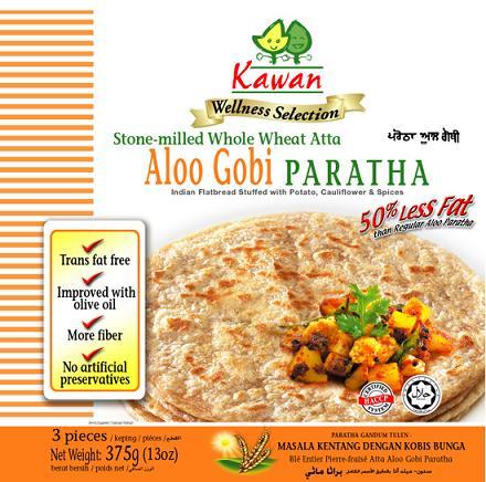 Kawan Wellness Aloo Gobi Paratha