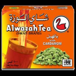 Alwazah Cardamom Teabags 100TB