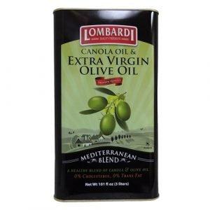 Lombardi Canola & Extra Virgin Olive Oil Blend (Tin)