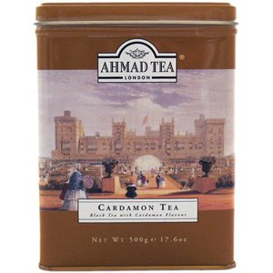 Ahmad Cardamon Tea Tin