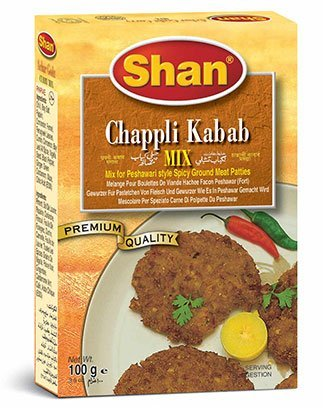 Shan Chappli Kabab Mix 12x100g
