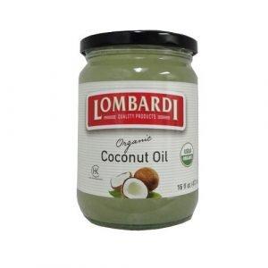 Lombardi Organic Coconut Oil