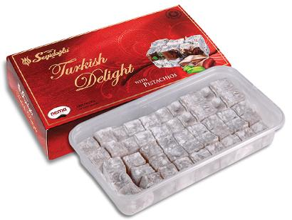 Turkish Delight With Assorted Nuts