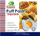 5″ Puff Pastry Square