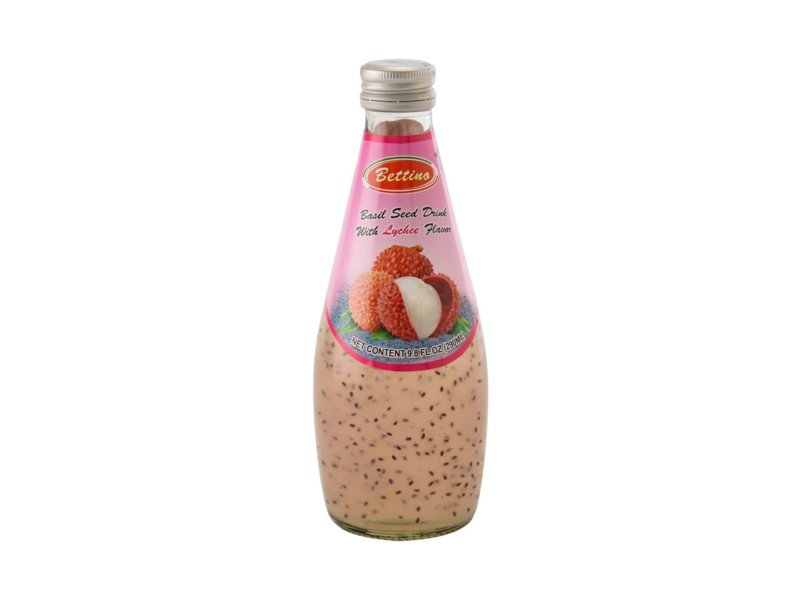 Azure Basil Seed Drink Lychee