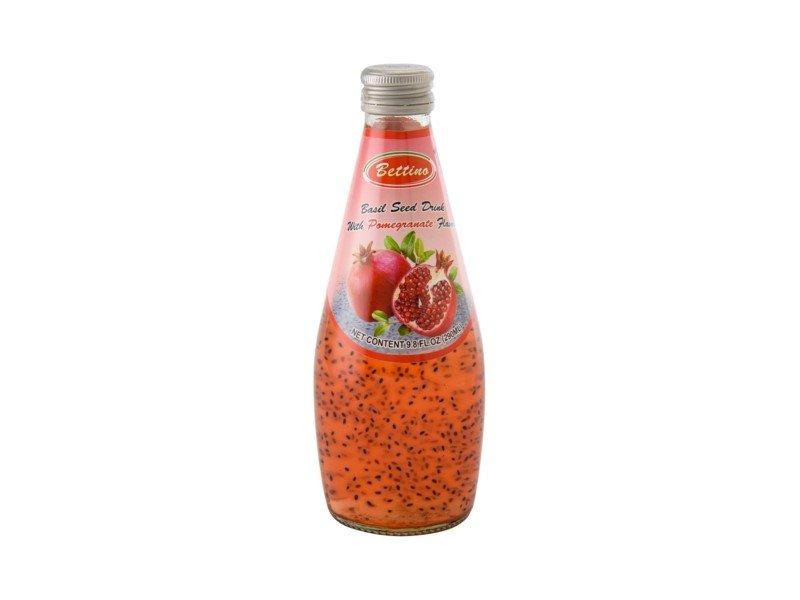 Azure Basil Seed Drink Pomegranate