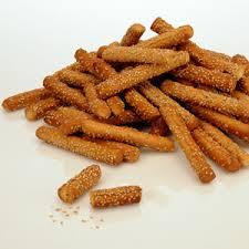 Sesame Breadsticks (small sticks)