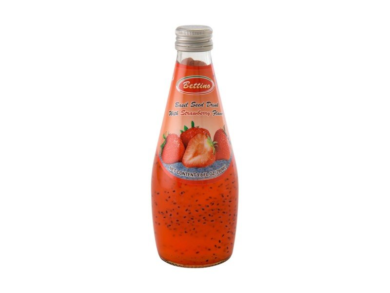 Azure Basil Seed Drink Strawberry