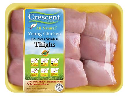 Crescent Boneless Skinless Thighs