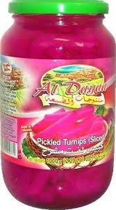 Aldayaa Pickled Turnips (Sliced)