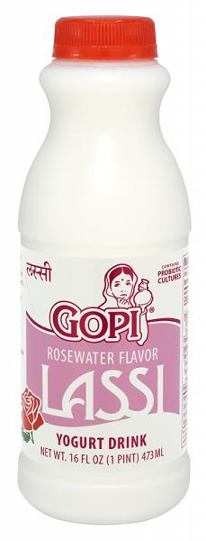 Gopi Lassi Yogurt Drink Rose