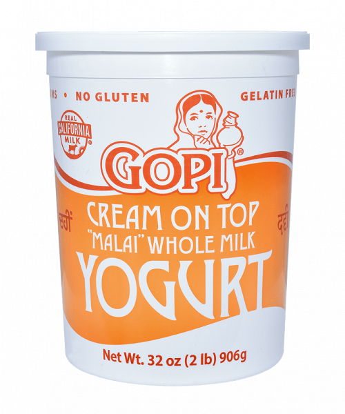 Gopi Cream On Top Whole Milk Yogurt