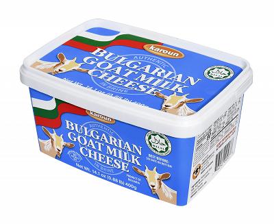 Karoun Bulgarian Goat Milk White Cheese in Brine
