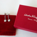 SALVATORE FERRAGAMO DANGLE EARRINGS