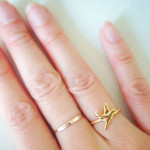SAUGHT PURSUING PEACE DOVE RING