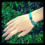 HERMES CLIC CLAC IN TURQUOISE