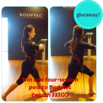 GIVEAWAY: One four-session pass to Bodytec (worth $320!)
