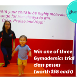 GIVEAWAY: One of three Gymnademics trial class passes (worth $58 each!)