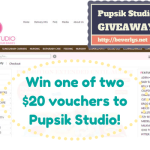 GIVEAWAY: Win one of two $20 vouchers to Pupsik Studio!