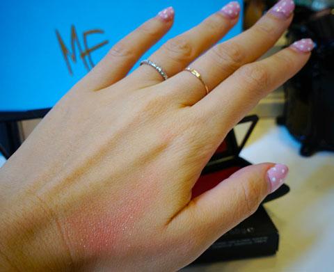 NARS creme blush in Hibiscus