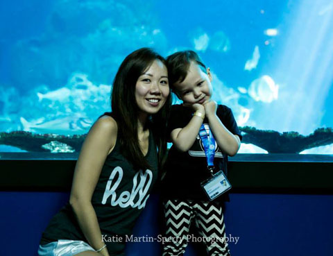 SEA Aquarium 'Mummy And Me', Resort World Sentosa