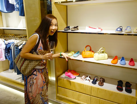 Gucci Spring Summer 2015 Paragon event