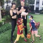 THE BURGESS FAMILY HALLOWEEN 2017