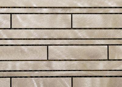 Aluminum Muretto Mosaic