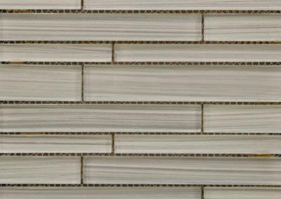 Silkscreen Random Brick Gray Mosaic