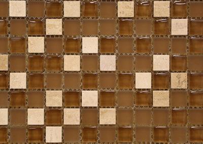 Red Stick Glass Broadmoor Beige Mosaic
