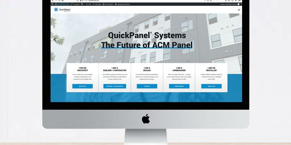 QuickPanel Systems' Customer-Focused Site