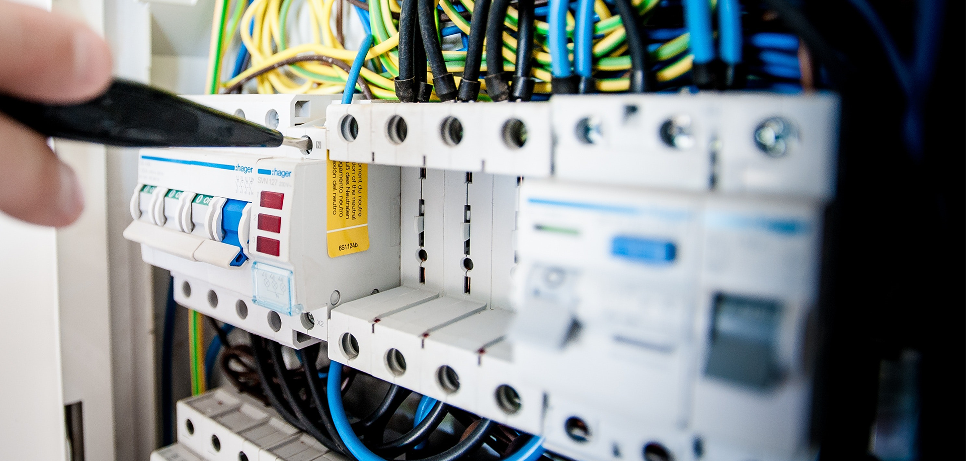 Electrician installation commercial company certified