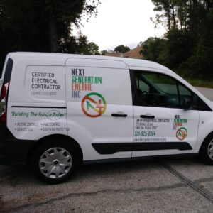 Next Generation Eneraie Mobile Commercial Electrician Van