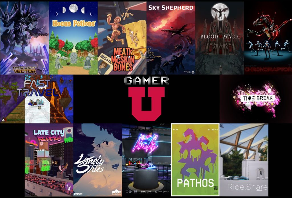 These are the 13 games published this year in the EAE Games Program.