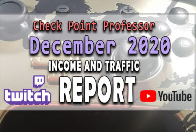 December 2020 Feature Image Income Report Check Point Professor