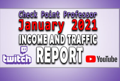 Check Point Professor January 2021 income and traffic report twitch youtube