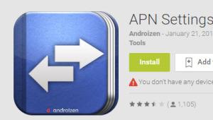 APN changer - APN settings
