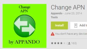 APN changer app