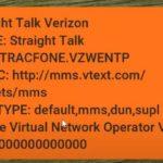 Straight Talk Verizon No MMS Fix