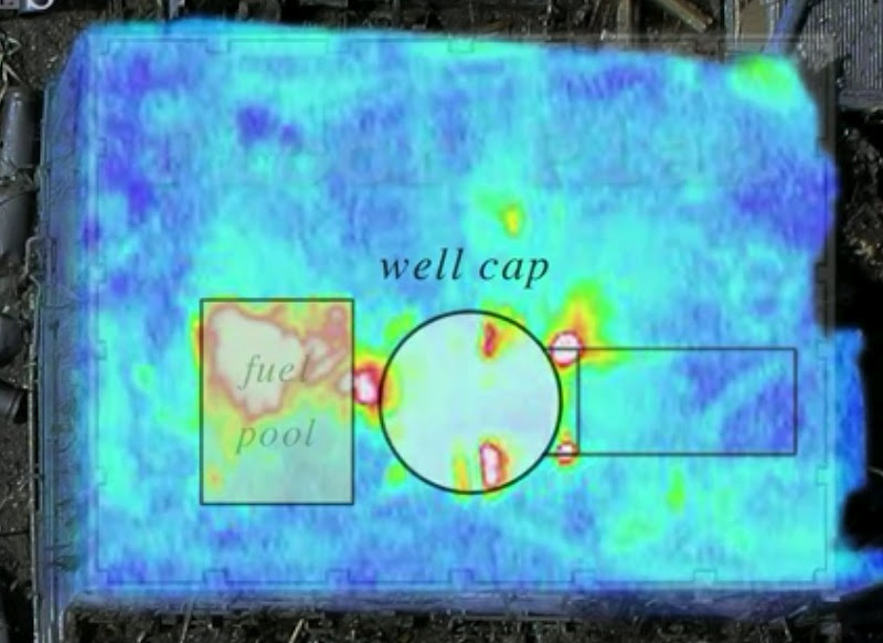 Fukushima Thermal Image With Floor Map