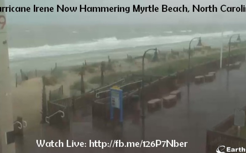 Hurricane Irene Now Larger Than Katrina – First Winds, Rains, Power Outages Hit North Carolina