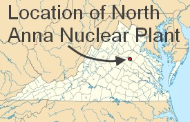 Location-of-North-Anna-Nuclear-Generating-Station
