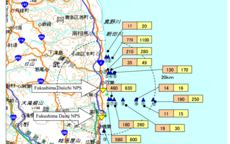 High Levels Of Fukushima Cesium Radiation Found In Pacific Fish