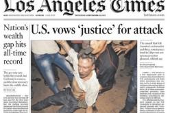 Days Later: US Newspapers Run Graphic Photos Of Libya Ambassador