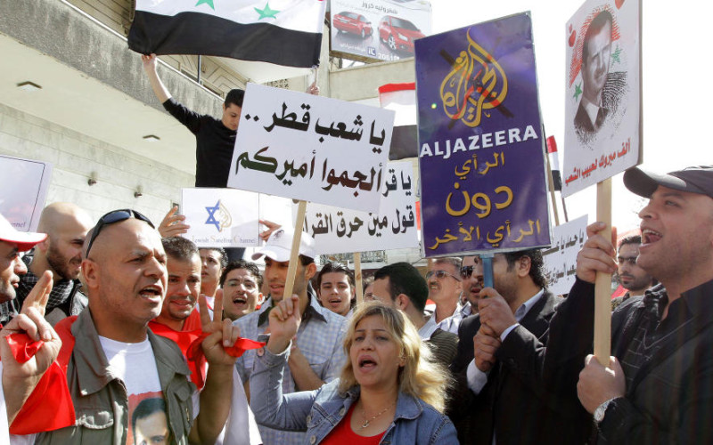 Contrasting Data Proves Al Arabiya, Al Jazeera Distort Syria Facts