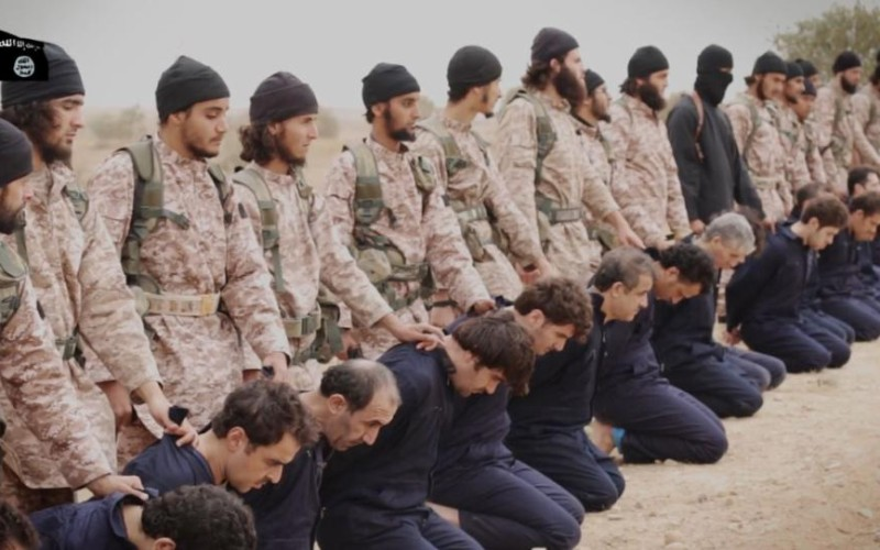Not Seen On TV: 20 Minutes Of Graphic Syria Terrorist Executions
