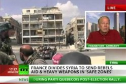 Backing Syria Rebels Like Russia Backing And Arming The KKK