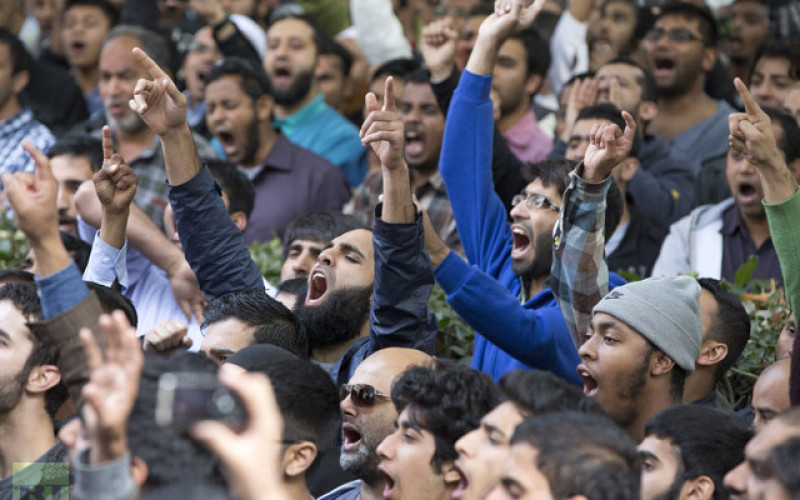 Finally The Truth: Muslim Protests About NATO Drone Strikes, Backing Of Saudi Jihadists